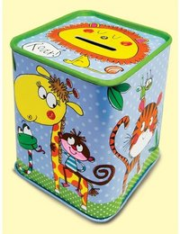 Image of Jungle Tin Money Box